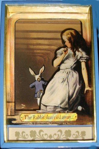 Alice in Wonderland with Rabbit