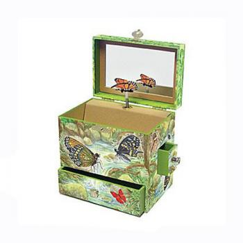 Enchantmints Monarch Butterfly Music Box
