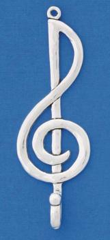 Wall Hook in Polished Pewter