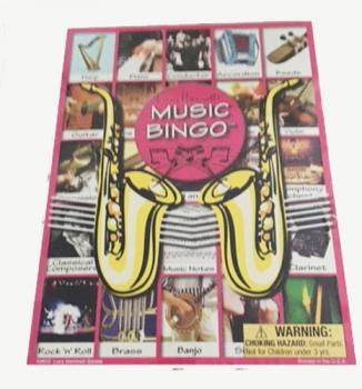 Music Bingo Game