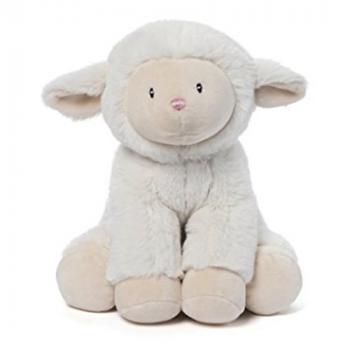 Gund Musical Lopsy Lamb stuffed animal
