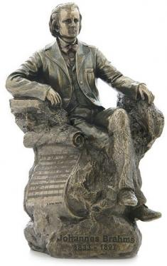 Johannes Brahms Statuette