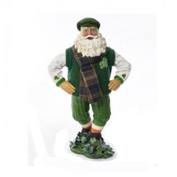 Irish Dancing Santa Musical Figurine