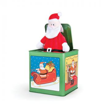 Jack in The Box Santa