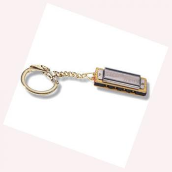 Little Lady Hohner Harmonica Key Chain