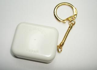 Miniature music box mechanism with unattached keychain