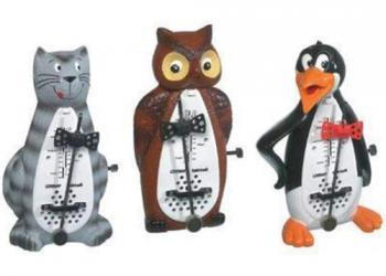 Taktell Cat, Owl and Penguin Metronomes