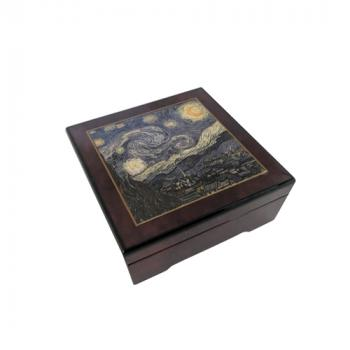 Starry Night Music Box by Van Gogh