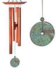 Woodstock Eastern Energies Turquoise Chime - Medium