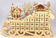 Advent Calendar Musical Christmas House