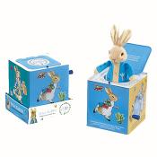Musical Jack In The Box - Peter Rabbit With Book