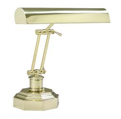Lamp polished brass with octagonal base