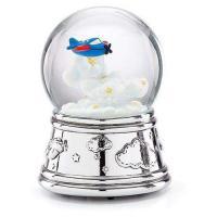 Reed and Barton - airplane Waterglobe