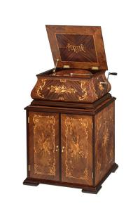 Porter Disc Player Music Boxe - The Baroque