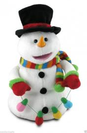 Snowman J.Frost Animated Plush Musical by Cuddle Barn