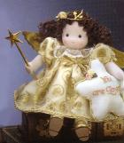 Musical Love angel Doll in gold