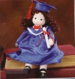Musical Dolls - Graduate (Brunette)
