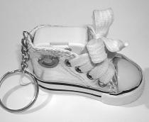 musical sneaker keychain