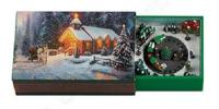 Kinkade Church Snow Scene on Mini Music Box