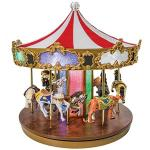 Grand Carousel Musical Merry go Round by Mr Christmas