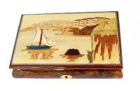 Music Box with Sailboat on Italian Waters