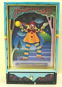 Animated Colorful Clown Dancing and Juggling Yellow Ball