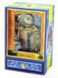 Alice in Wonderland  with Humpty  Dumpty - Animated medium Musical Shadow Box
