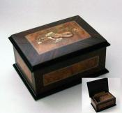 Small Italian Musical Box with Instrument Inlay(1.18)