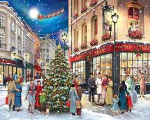 Christmas Carolers Jigsaw puzzle