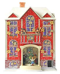 Christmas House Advent Calensar Scandanavian design