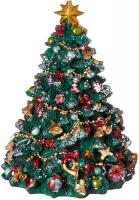 Decorated Christmas Tree 7 inches