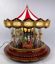 Deluxe Christmas Carousel