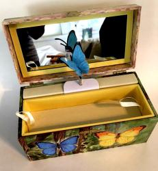 Enchantmints Butterfly Jewelry Box with Rotating Butterfly