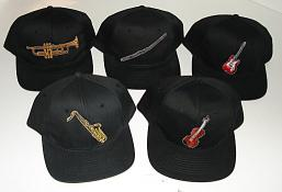 Baseball Caps - Musical Instrument