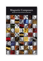 Magnetic Composers and Instruments Snap Apart Sheet