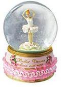 Revolving Ballerina Glitter Globe