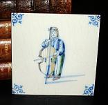 Delft Blue Tile -  Bassist
