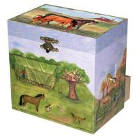 Enchantmints Horse Ranch Musical Case for Small Trinkets