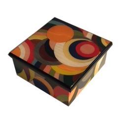 Modern Design Italian Inlay Music Box