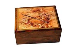 Musical Box with Flute and Angels