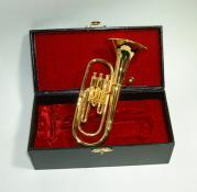 Miniature Baritone Horn 3.5 with Case