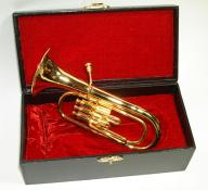 Miniature Baritone Horn 5.5 with Case