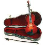 Miniature Violin with bow and case