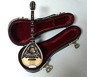 Miniature Bouzouki and case