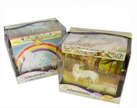 Pegasus and Unicorn Musical Jewelry boxes by Enchantmints