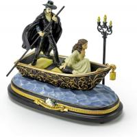 The Phantom with Christine Journey to the Lair Figurine