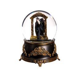 Phantom Stepping Through Mirror Water Globe