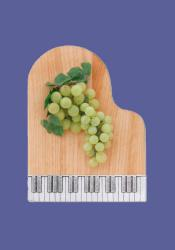 PIano shaped serving board by Basic Spirit