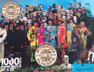 1000 piece Beatles Sgt Peppers Lonley Hearts Club Band Puzzle