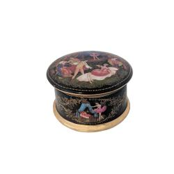 Ballet Russian Porcelain Sleeping Beauty Music Box